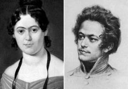 Karl and Jenny Marx